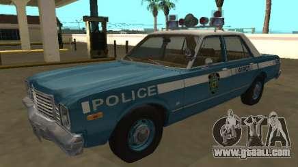 Dodge Aspen 1979 New York Police Dept for GTA San Andreas