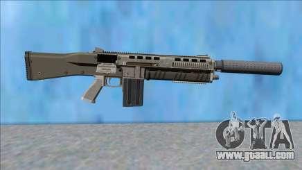 GTA V Vom Feuer Assault Shotgun Platinum V8 for GTA San Andreas