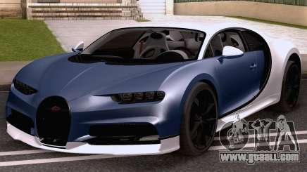 2021 Bugatti Chiron for GTA San Andreas