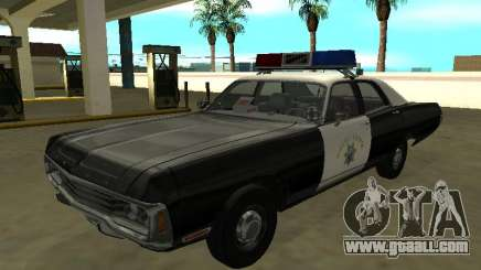 Dodge Polara 1972 California Highway Patrol for GTA San Andreas