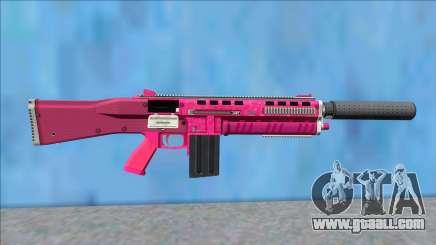 GTA V Vom Feuer Assault Shotgun Pink V8 for GTA San Andreas
