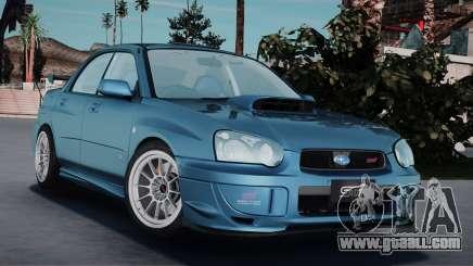 Subaru Impreza WRX STI Spec-C Type-RA 2004 for GTA San Andreas