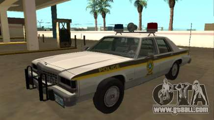 Ford LTD Crown Victoria 1987 Sûreté du Québec for GTA San Andreas