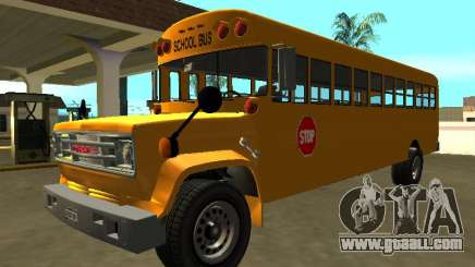 GMC C-70 1970 School Bus for GTA San Andreas