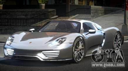 Porsche 918 Spyder SR for GTA 4