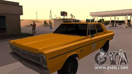 Plymouth Belvedere 4 doors 1965 Taxi for GTA San Andreas
