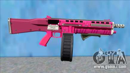 GTA V Vom Feuer Assault Shotgun Pink V9 for GTA San Andreas