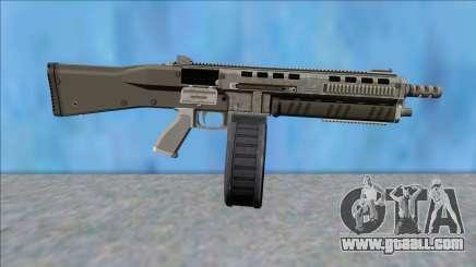 GTA V Vom Feuer Assault Shotgun Platinum V14 for GTA San Andreas