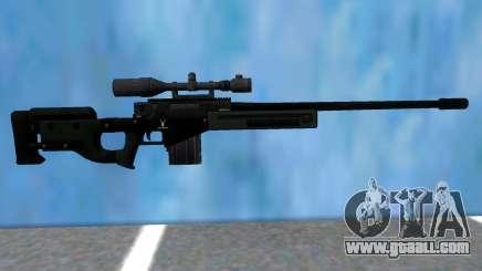 GTA V Sniper Rifle Black for GTA San Andreas