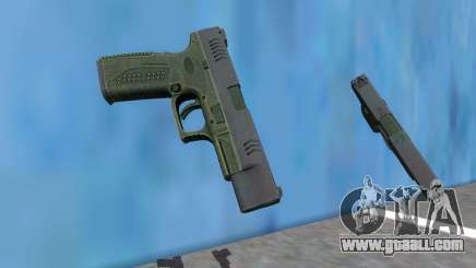 PAYDAY 2 LEO Pistol for GTA San Andreas