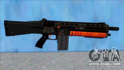 GTA V Vom Feuer Assault Shotgun Orange V15 for GTA San Andreas