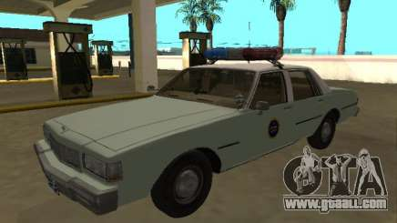 Chevrolet Caprice 1987 US Border Patrol for GTA San Andreas