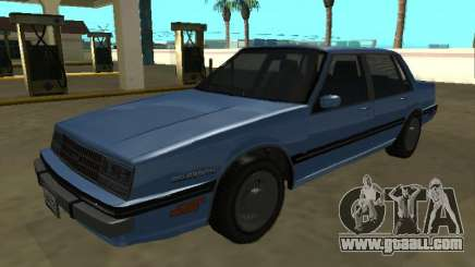 1984 Chevrolet Celebrity for GTA San Andreas