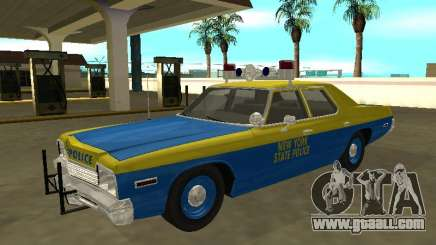 Dodge Monaco 1974 New York State Police for GTA San Andreas