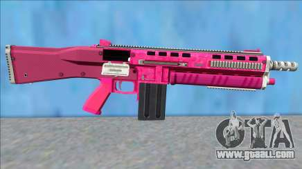 GTA V Vom Feuer Assault Shotgun Pink V15 for GTA San Andreas