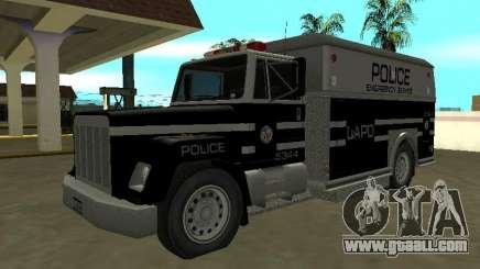 ENFORCER HQ of GTA 3 Los Angeles Police Dept for GTA San Andreas