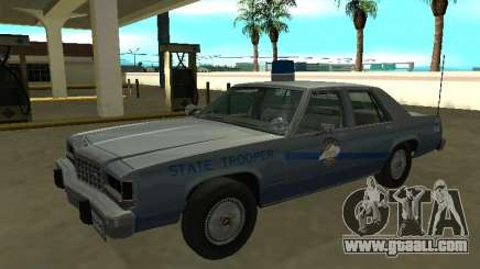 Ford LTD Crown Victoria 1987 Kentucky State Poly for GTA San Andreas