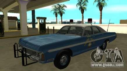 Dodge Polara 1972 Nevada Highway Patrol for GTA San Andreas