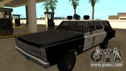 Plymouth Belvedere 1965 Station Wagon LAPD for GTA San Andreas