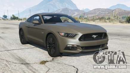 Ford Mustang GT 201ⴝ for GTA 5