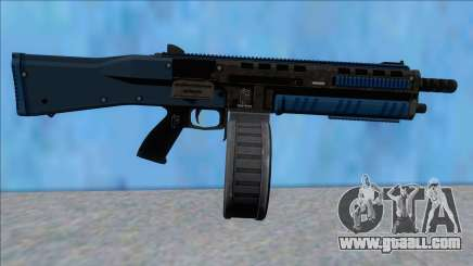 GTA V Vom Feuer Assault Shotgun LSPD V14 for GTA San Andreas