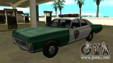Dodge Polara Chickasaw County Sheriff for GTA San Andreas