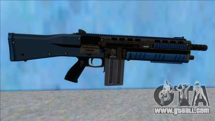 GTA V Vom Feuer Assault Shotgun LSPD V15 for GTA San Andreas