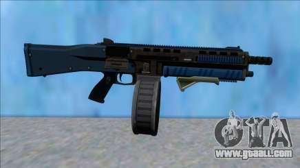 GTA V Vom Feuer Assault Shotgun LSPD V9 for GTA San Andreas