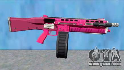 GTA V Vom Feuer Assault Shotgun Pink V11 for GTA San Andreas