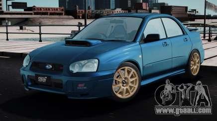 Subaru Impreza WRX STi Spec-C 2003 for GTA San Andreas