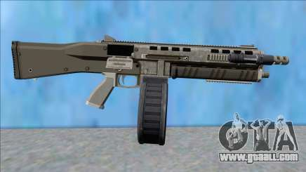 GTA V Vom Feuer Assault Shotgun Platinum V11 for GTA San Andreas