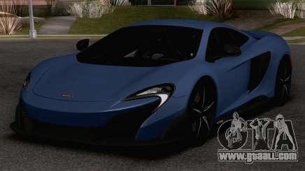 2020 McLaren 675LT for GTA San Andreas