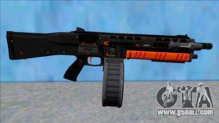 GTA V Vom Feuer Assault Shotgun Orange V11 for GTA San Andreas