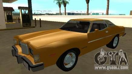 Mercury Cougar (1976) for GTA San Andreas