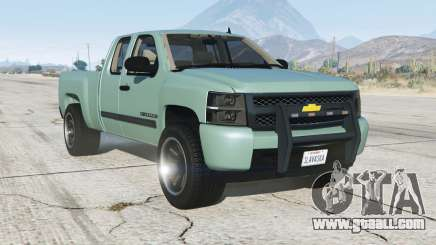 Chevrolet Silverado 1500 LT Park Ranger Unmarked for GTA 5