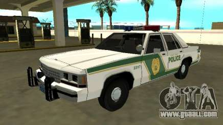 Ford LTD Crown Victoria 1991 Miami Dade M Police for GTA San Andreas