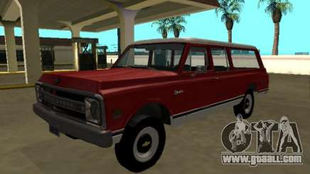 1969 Chevrolet C-10 Suburban for GTA San Andreas