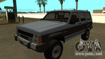 Jeep Cherokee Wagoneer Limited 1987 for GTA San Andreas