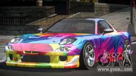 Mazda RX-7 GST Racing PJ5 for GTA 4