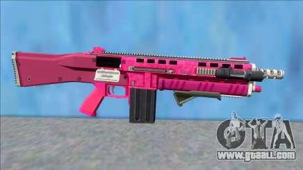 GTA V Vom Feuer Assault Shotgun Pink V6 for GTA San Andreas