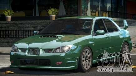 Subaru Impreza SP STI for GTA 4