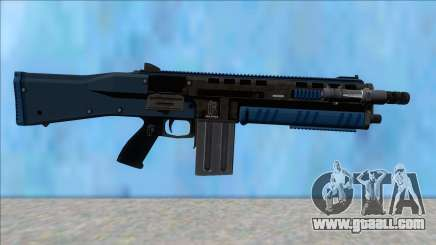 GTA V Vom Feuer Assault Shotgun LSPD V12 for GTA San Andreas