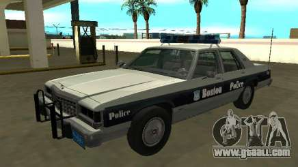 Ford LTD Crown Victoria 1987 Boston Police for GTA San Andreas