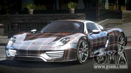 Porsche 918 Spyder SR L4 for GTA 4