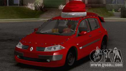 Renault Megane Christmas Edition for GTA San Andreas