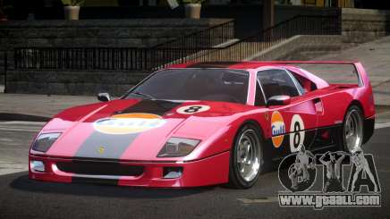 Ferrari F40 80S L5 for GTA 4