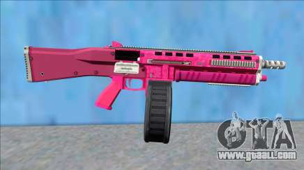 GTA V Vom Feuer Assault Shotgun Pink V14 for GTA San Andreas