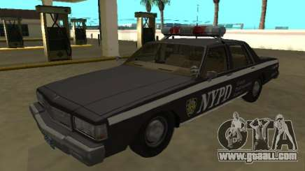 Chevrolet Caprice 1987 NYPD Auxiliary for GTA San Andreas