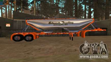 Cement Mixer Edwards Trucking for GTA San Andreas