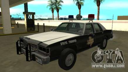 Ford LTD Crown Victoria 1987 Texas State Trooper for GTA San Andreas